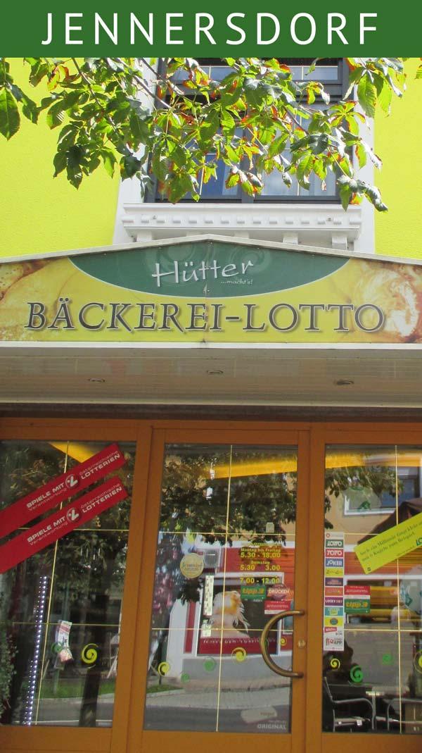 Bäckerei Hütter in Jennersdorf