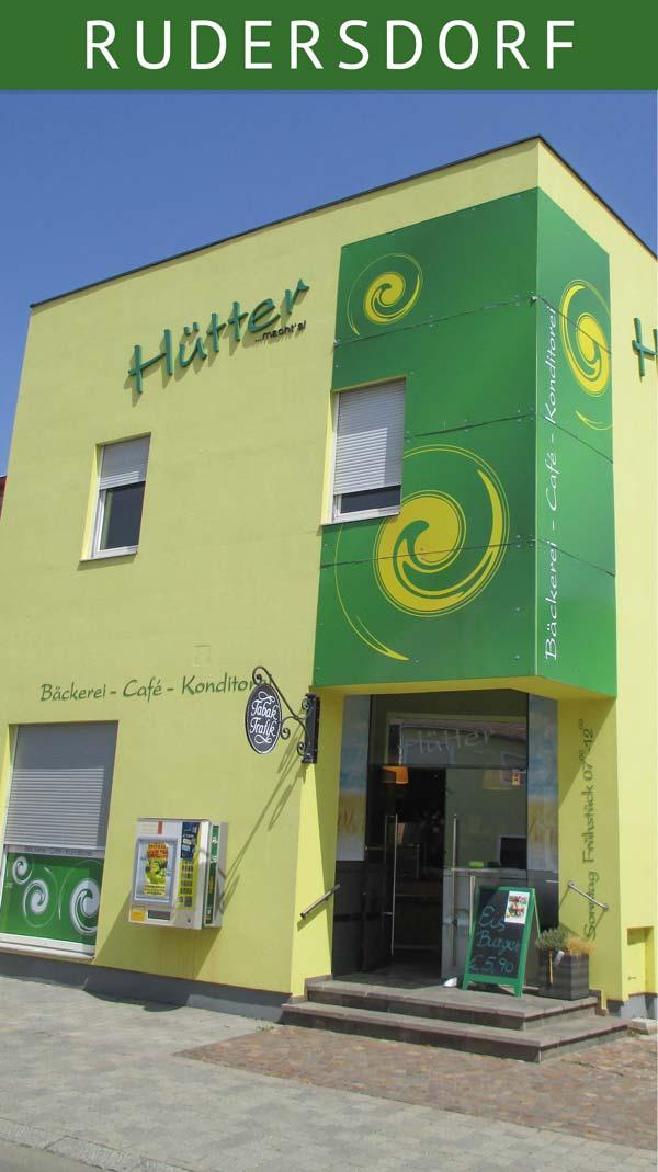 Bäckerei Hütter in Rudersdorf