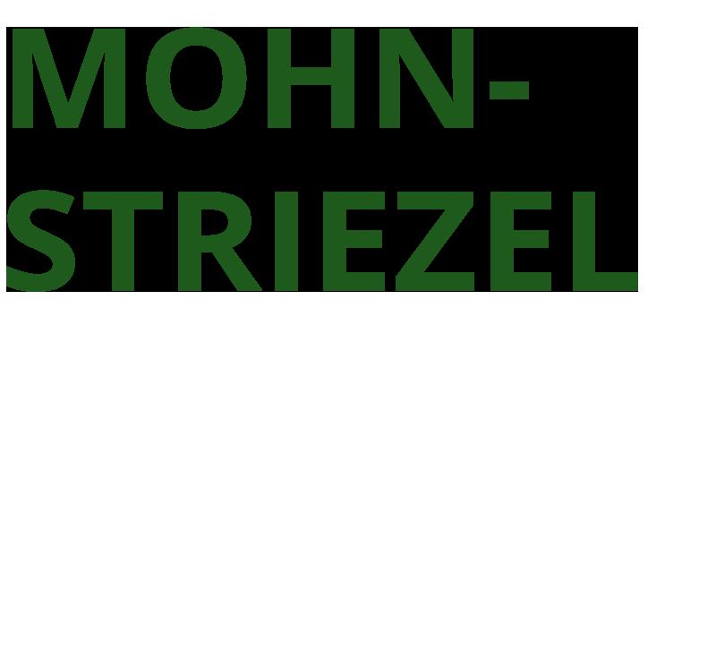 Bäckerei Hütter Mohnstriezel