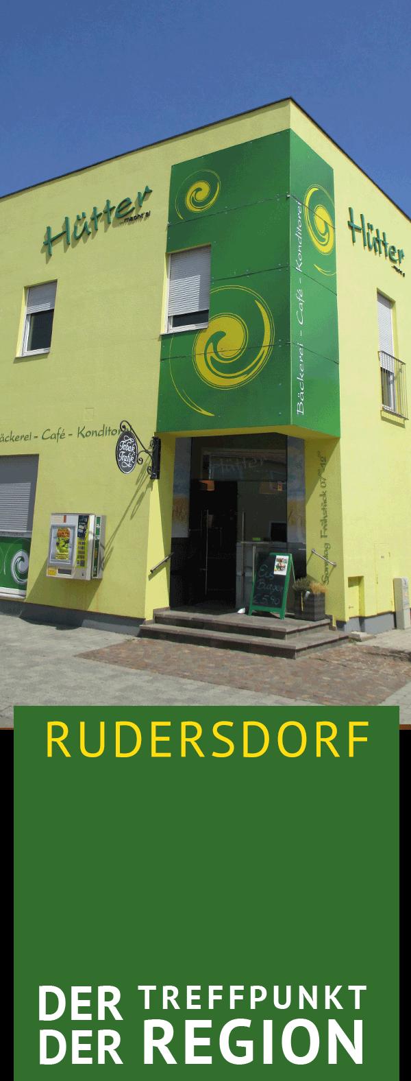 Bäckerei Hütter, Rudersdorf