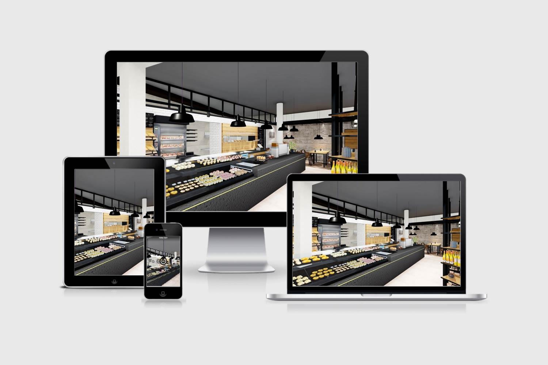 Bäckerei Hütter: Virtueller Rundgang in der Filiale Ilz