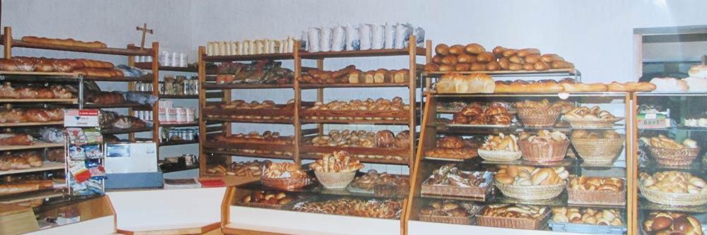 Bäckerei Hütter Geschichte 1977 Verkaufsflächenerweiterung