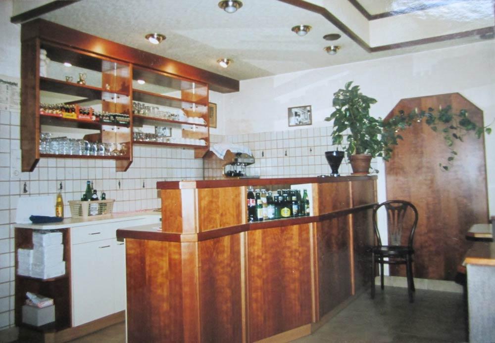 Bäckerei Hütter Geschichte 1980er Erstes CAFE