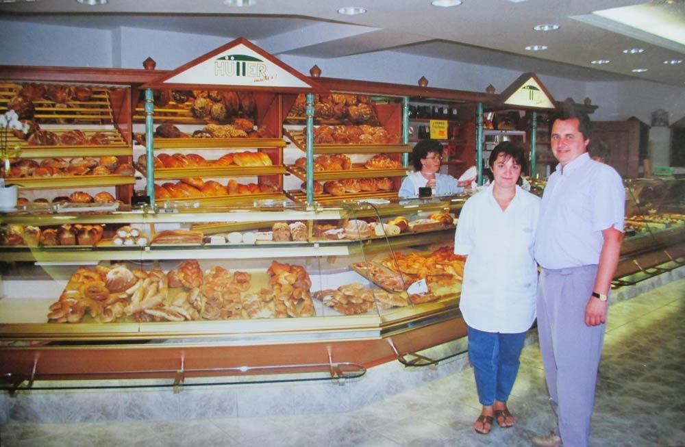 Bäckerei Hütter Geschichte 1993 Geschäftserweiterung
