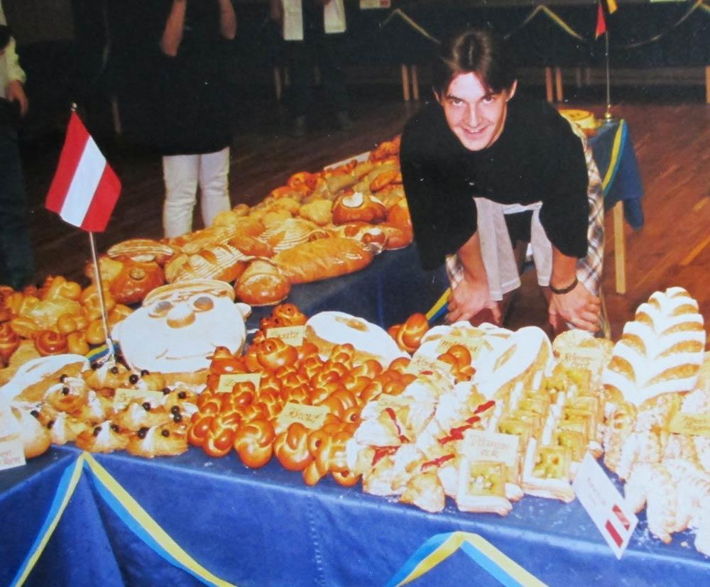 Bäckerei Hütter Geschichte 1996 Florian Hütter Bäckereuropameister