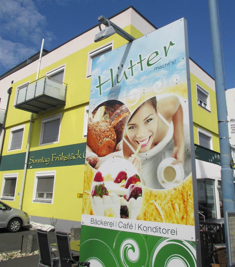 Bäckerei Hütte Geschichte 2007 Eröffnung Feldbach