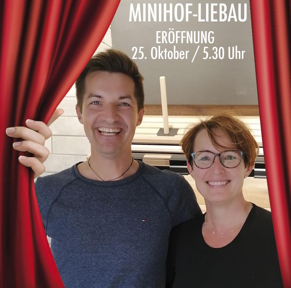 Bäckerei Hütter News: Eröffnung Minihof-Liebau
